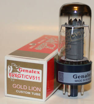 Genalex Gold Lion 6V6GT
