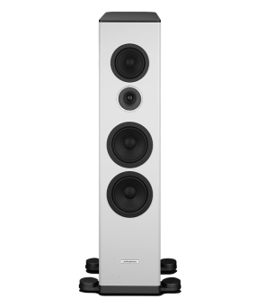 Audiosolutions Overture O305F mkIII - white gloss front