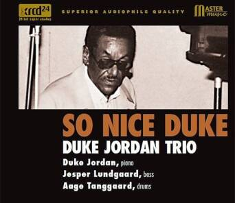 So Nice Duke Duke Jordan Trio - XRCD24