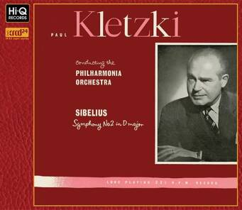Sibelius : Symphony No.2 in D major, Op.43 Paul Kletzki (Conductor)  - XRCD24
