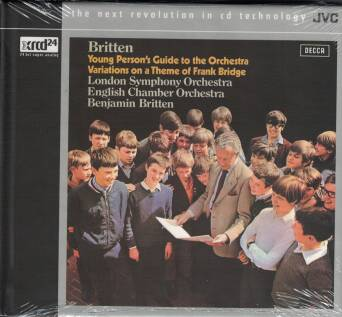 Benjamin Britten - Young Person's Guide to the Orchestra - Variations on a Theme of Frank Bridge - XRCD24