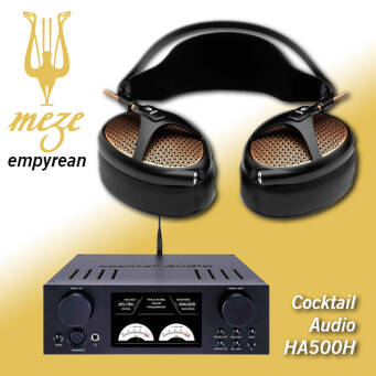 Cocktail Audio HA500H + Meze Empyrean