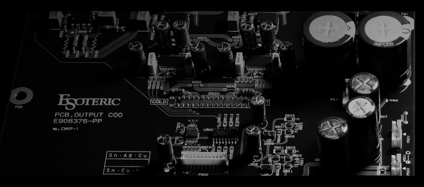 Esoteric audio pcb